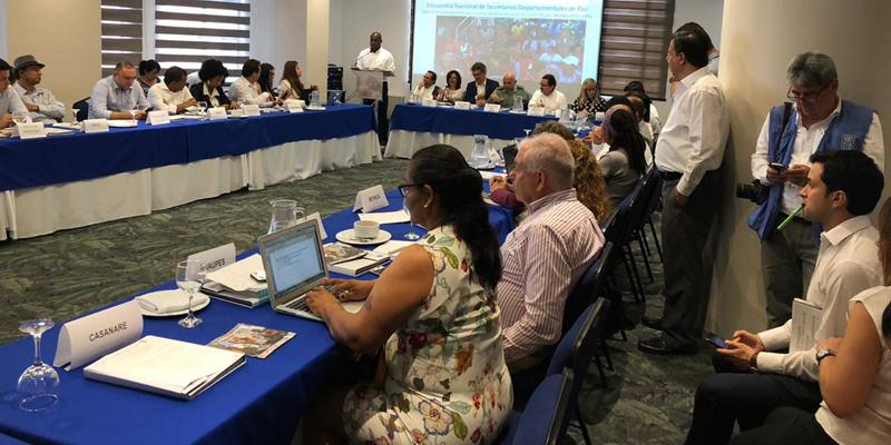Cundinamarca, presente en el Encuentro Nacional de Secretarios de Paz