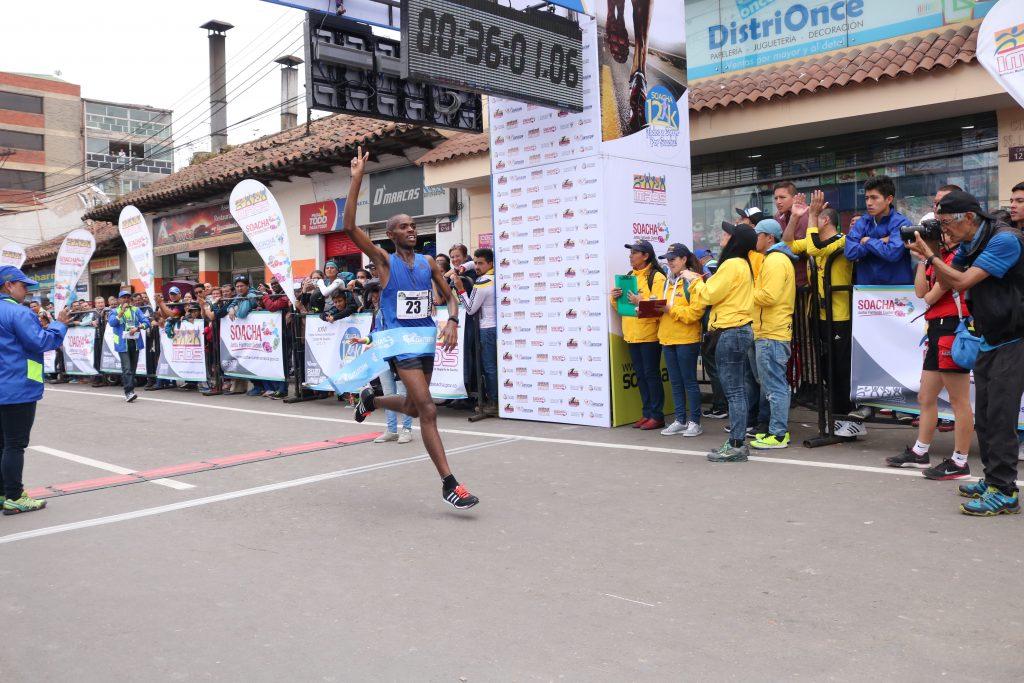 Kenia, México, Perú, Ecuador y Puerto Rico Participarán  en la Carrera Atlética Internacional de Soacha