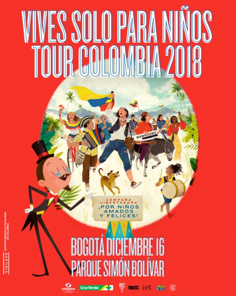SE ABRE NUEVA FECHA DEL «VIVES TOUR, CAMPAÑA LIBERTADORA»