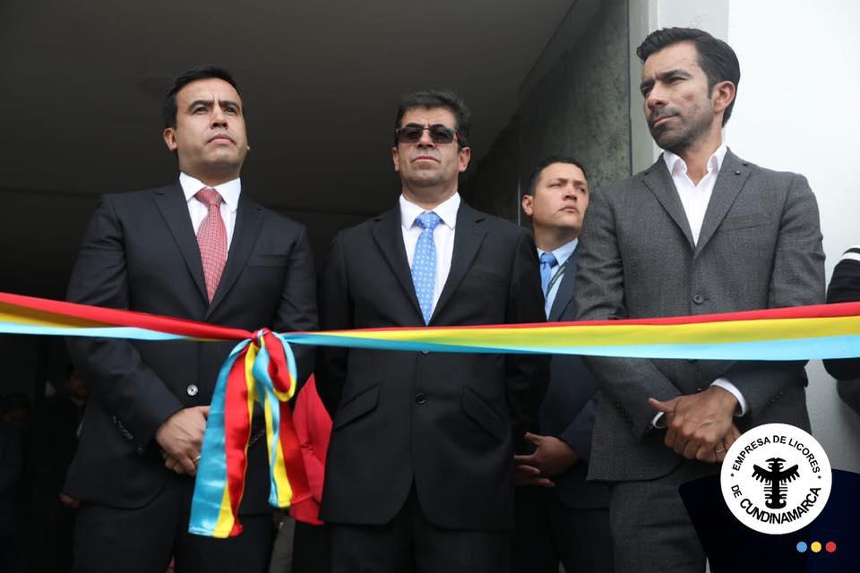 La Empresa de Licores de Cundinamarca inaugura su nueva planta en la vía Siberia-Cota