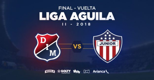 Final vuelta de la Liga Aguila II – 2018