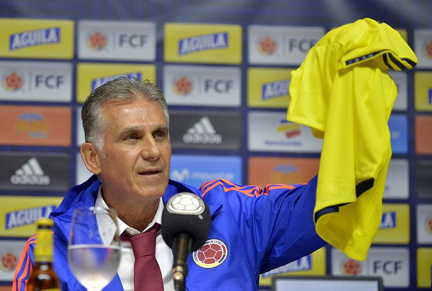 Carlos Queiroz, nuevo director técnico de la Selección Colombia de Mayores