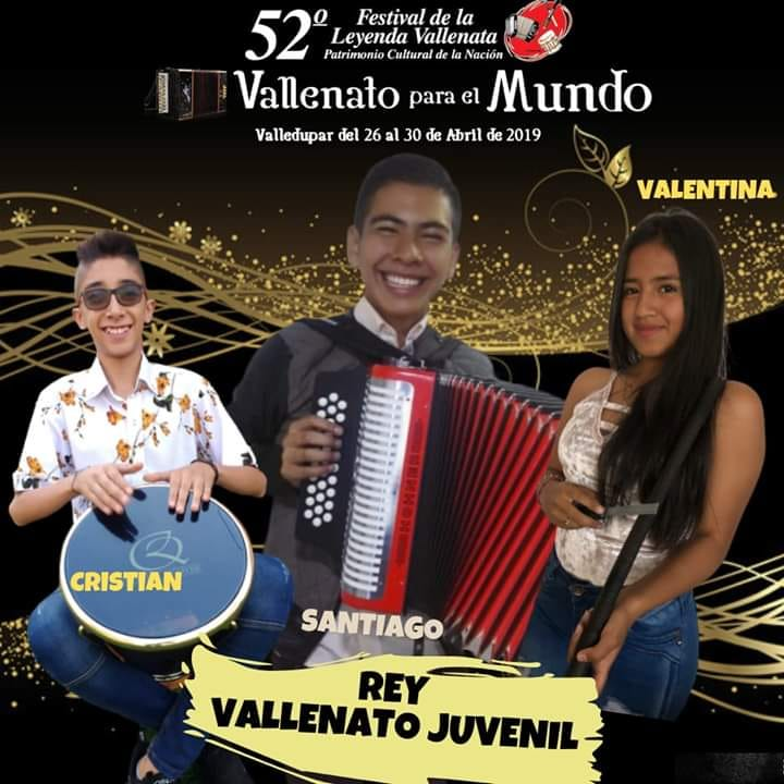 CUNDINAMARCA PRESENTE EN EL FESTIVAL VALLENATO EN VALLEDUPAR