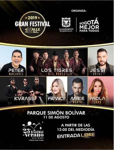 ¡LLEGA EL GRAN FESTIVAL 'LA KALLE' 2019!