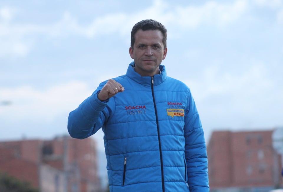 ¡No más inseguridad en Soacha!»: Juan Carlos Saldarriaga