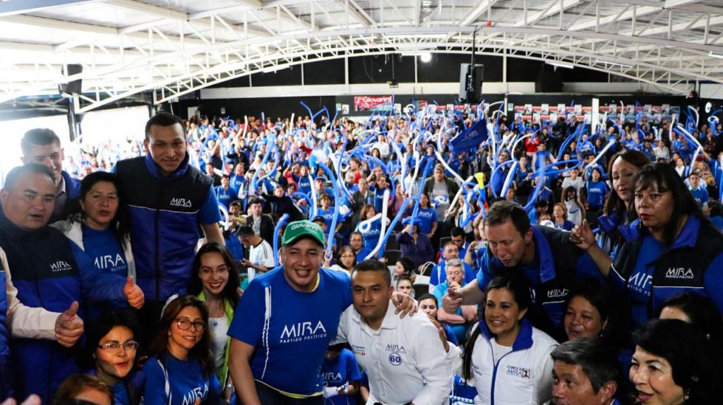 Partido político MIRA se adhiere a la campaña de Giovanni Ramírez