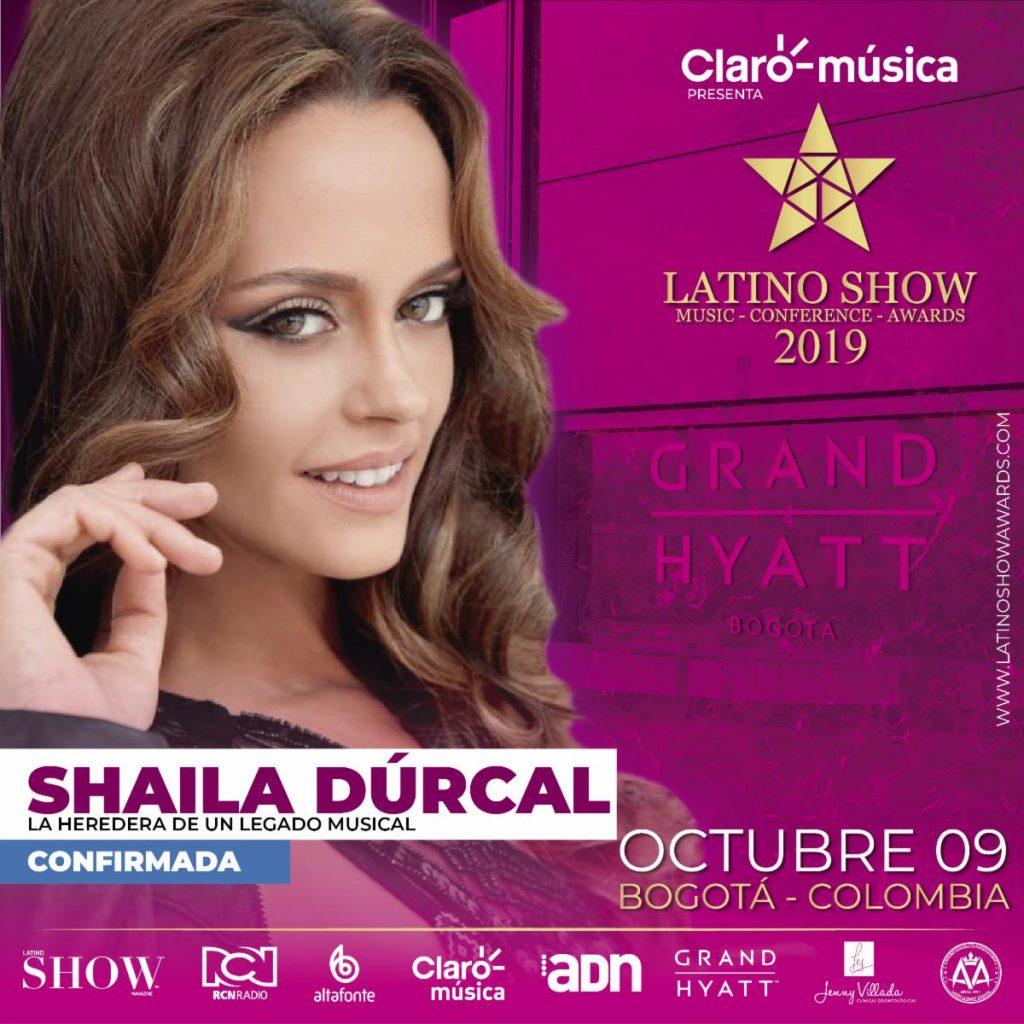 SHAILA DÚRCAL PRESENTE EN LOS LATINO SHOW CONFERENCE & AWARDS 2019