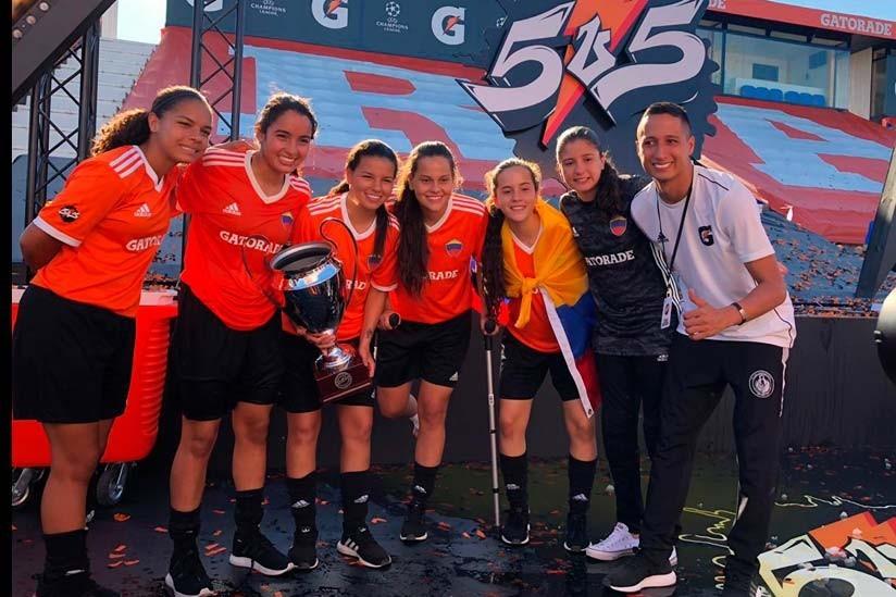 Gatorade estrena «Cantera5v5» para mlanzar el Torneo de Fútbol 5v5 anual