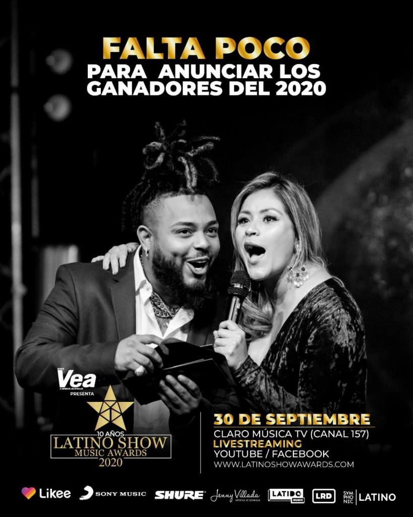 GRAN ESPECIAL DE LATINO SHOW MUSIC AWARDS 2020
