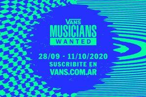 Vans Lanza el Concurso Mundial de Música 'Musicians Wanted'