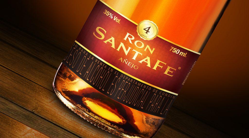 Medalla doble oro al Ron Santafé, un premio a la excelencia y a la calidad