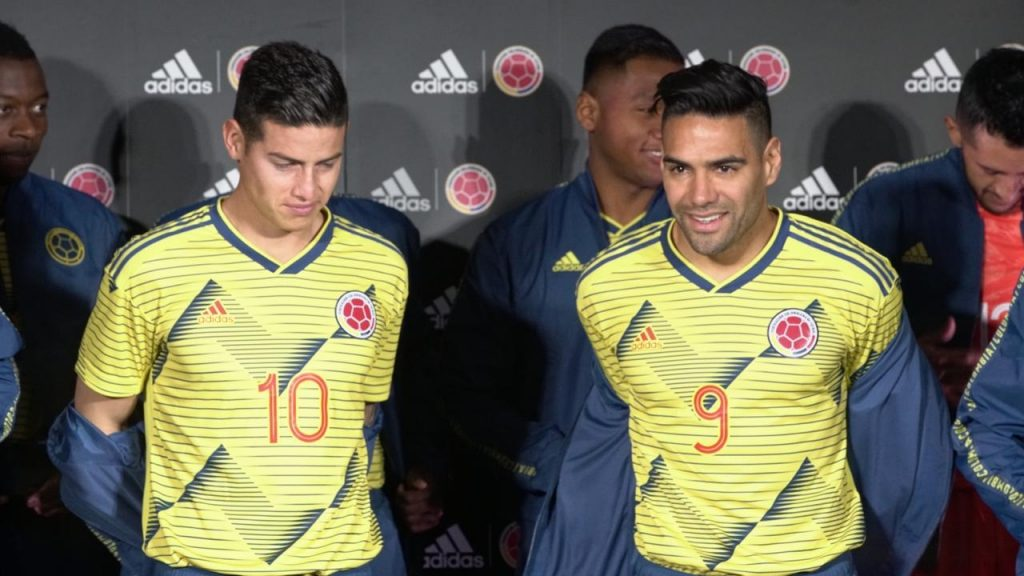 Adidas presenta la nueva camiseta de la selección Colombia