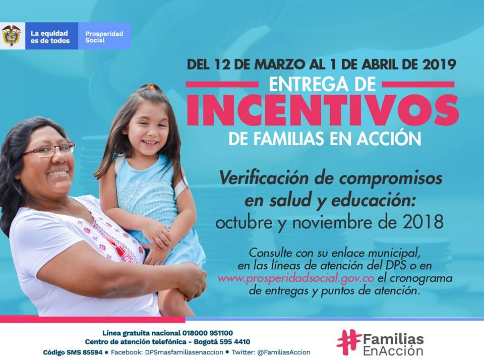 PAGOS PARA BENEFICIARIOS DE FAMILIAS EN ACCIÓN