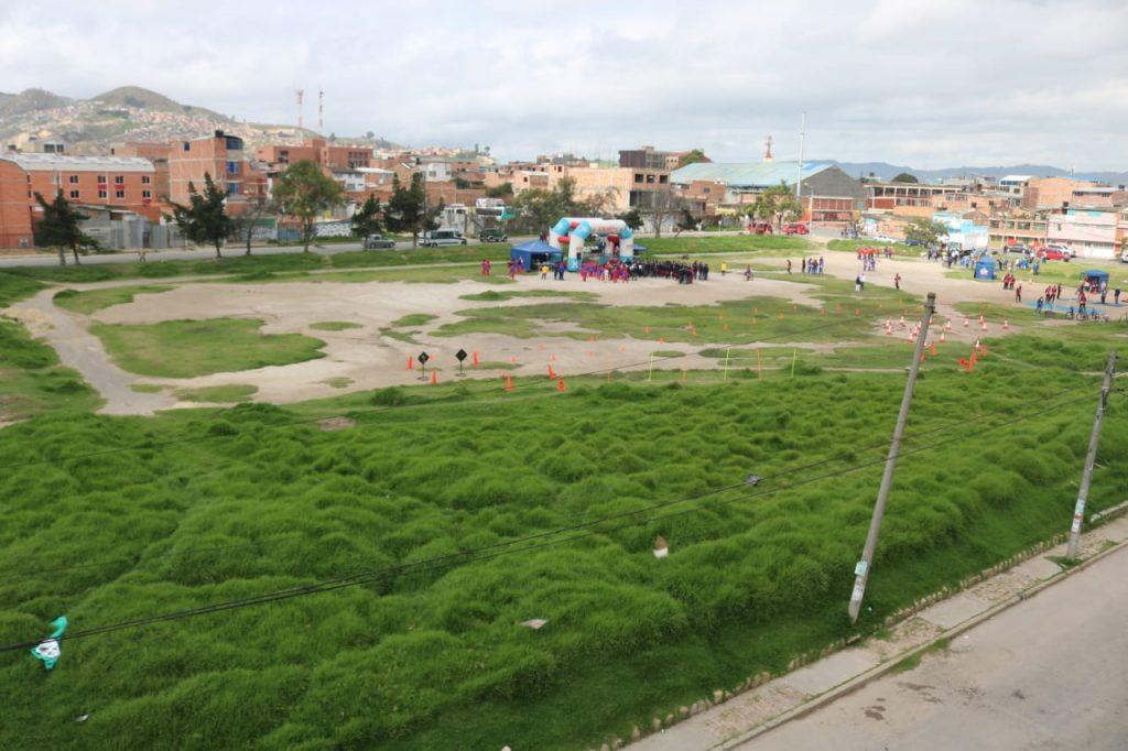 El 'Campo de los Locos' se convertirá en el mejor complejo deportivo de Soacha