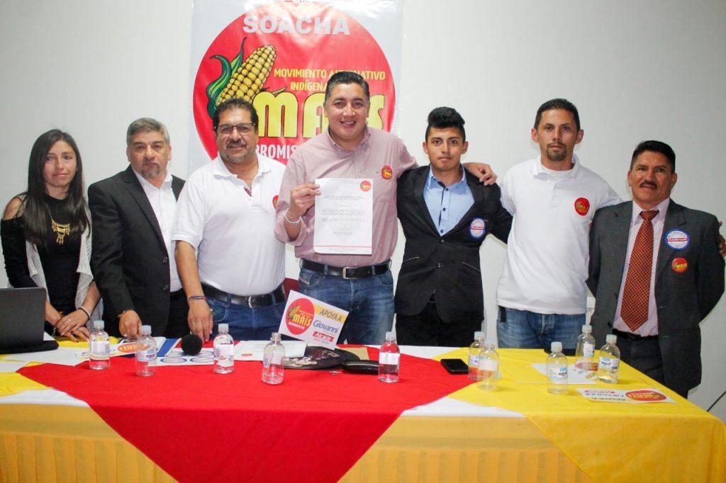 Partido político MAIS se une a la campaña de Giovanni Ramírez