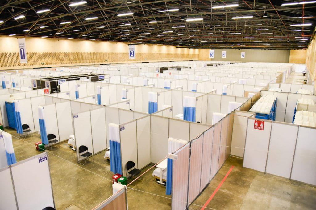 Corferias cumple con entrega del montaje e instalaciones del Centro Hospitalario Transitorio Temporal