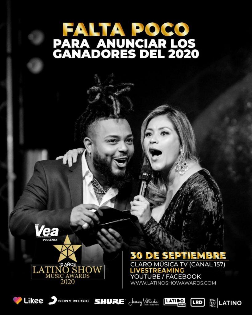 GRAN ESPECIAL DE LATINO SHOW MUSIC AWARDS 2020