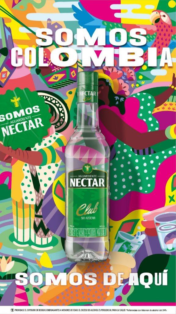 Aguardiente Nectar estrena plataforma de marca: Somos de Aquí